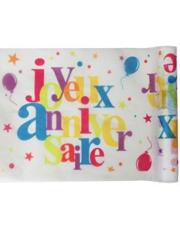 Chemin de table Anniversaire 5m