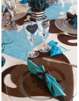 Set de table coeur