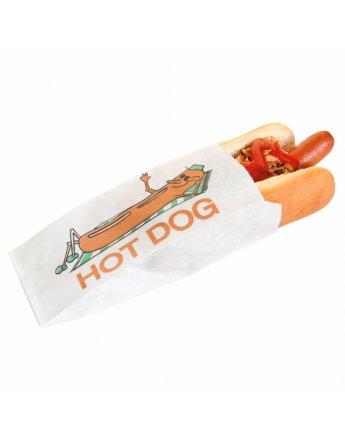 Sachet HOT DOG 7x18cm par 100