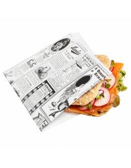 Sachet burger Times par 500