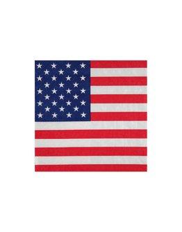 Serviette Amérique par 20