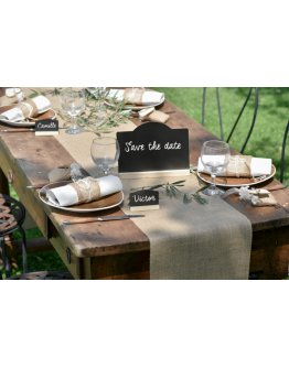 Chemin de table Toile de Jute 5m