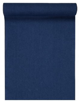 Chemin de table jean bleu