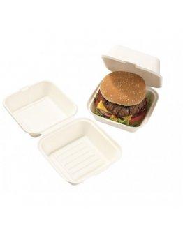 Boite burger pulpe Blanche par 50
