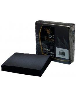 Serviette Gc Class Noir par 50