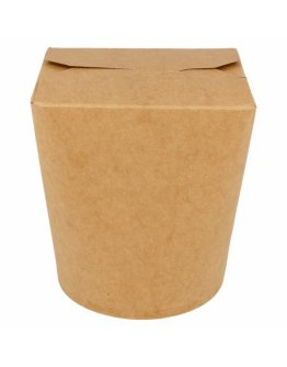 Pots à pâtes Kraft 960ml par 50