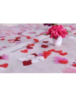 Confetti coeur non tissé par 100
