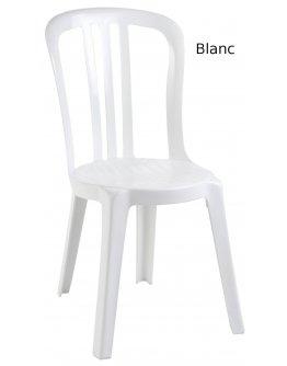 Chaise jardin blanche