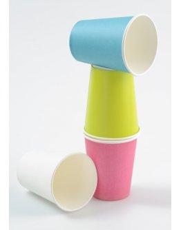 Gobelet carton couleur par 10